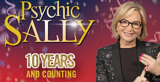 Psychic Sally 10 Years and Counting at King George's Hall this September