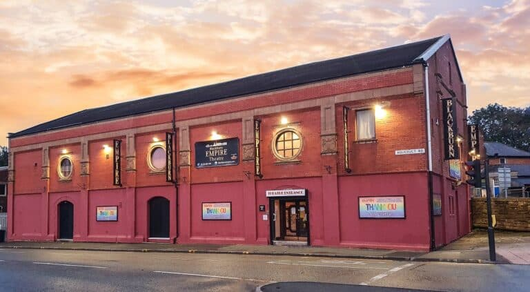 Blackburn's Empire Theatre receives lifeline funding from the Government's Culture Recovery Fund